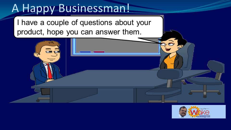 """Amy says """"I have a couple of questions about your product, hope you can answer them."""""""