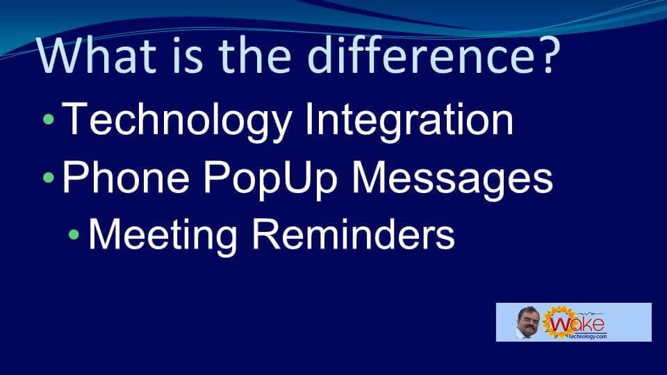 Meeting Reminders,